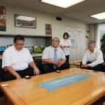 熊谷市長訪問